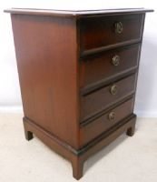 SOLD - Small Stag Minstrel Chest of Drawers